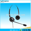 call centre headphone stereo earpieces for european markets