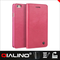 Hot Selling Competitive Price Genuine Leather Hard Cover For Iphone 6 Plus 5.5 Inch