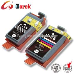 Compatible for Canon printer Pixma mini263, ink cartridge PG35 CL36