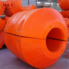 Polyethylene Plastic Dredging Float For Floating Pipes On Water