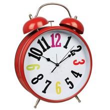 "8"" colorful round table top decorative metal bell alarm clock/sveglie giganti"