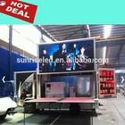 outdoor moving advertising,truck led billboard tv,mobile billboard truck