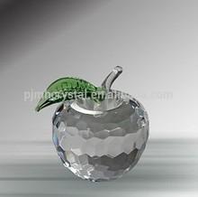 clear apple crystal for wedding souvenir gift MH-A102