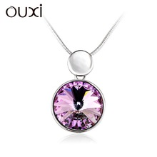 2015 best friend custom necklace &ouxi jewelry made with Swarovski elements 10967