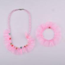 2015 fashion acrylic beads jewelry set
