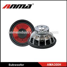 Hot sale subwoofer high power car subwoofer/subwoofer amplifier