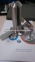 Marine grade duplex 2205 glass pool fence round glass spigot RBM-2