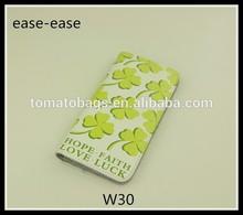 Pu leather ladies funky card holder wallet