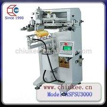 Semi auto vertical flat vacuum silk screen printing machine for sale