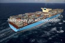 Cheap sea freight shipping xiamen/fuzhou to Douala/Cameroon