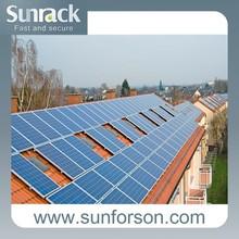 home use tilt roof mount solar panel system