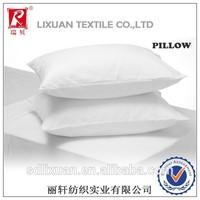 3-5 star hotel fiber fill pillow/100 cotton/100 polyester