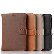 high quality OEM folding flip leather case for blackberry passport