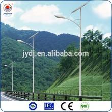 55w 60w solar garden led street lights with pole