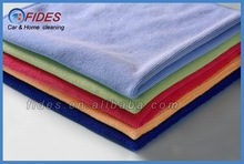 weft knitting microfiber clothes for car care and cleaning