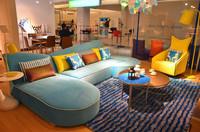 simple wooden sofa set design JF932