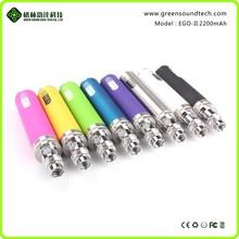 wholesale vapor pens ecigs ego II 2200MAH GS ego vaporizer 22000mah battery personal vape pen