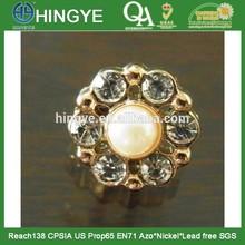 Fancy Bling Rhinstone Shank Button --PA1412029