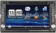 good radio wince 6.0 system 6.2 inch 2din dvd player MTK2531 WS-6201
