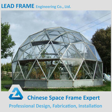 Large Steel Framing Clear Acrylic Half Dome