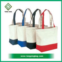 China proffesional designer custom canvas woman handbag