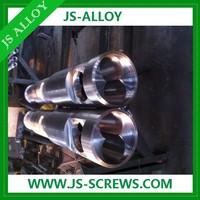 Single or Twin bimetal screw barrel cost for engel injection moulding machine