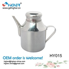 2014 Hot Sale Stainless Steel Kitchen Tool Oil Can/ Oil Cruet /Oil Pot