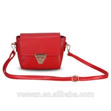2015 woman shoulder bag, leather shoulder bag, new model lady handbag shoulder bag