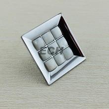 new style hardware Zinc alloy small kitchen square furniture knob