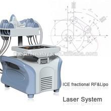 Professional lipo laser slimming 3 in 1 cavitation rf 650nm 980nm diode
