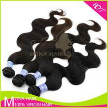 Free sample top quality raw unpocessed brazlian virgin hair