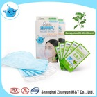 Adult 3 Fold Deodorizing Face Mask Blue Eqcalyptus Oil and Mint Scent