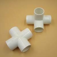 PVC Pipes Fittings PVC Cross Joint