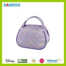 SANDOO supplier cheap nylon cosmetic bag, make up brush case for woman