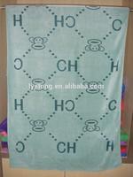 super soft microfiber kids cartoon towel