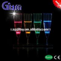 Wedding Decoratived Led Champagne Glass