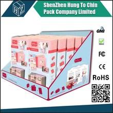 PDQ accept custom pantong print company logo factory manufacture art cardboard paper jewelry display box