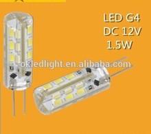 Factory outlets] explosion models 360 upgraded version of G4 LED Crystal Light low-voltage DC 12V 1.5W beads