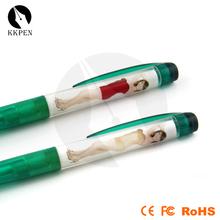 Jiangxin Adversting logo metal pen and pen holder for EU market