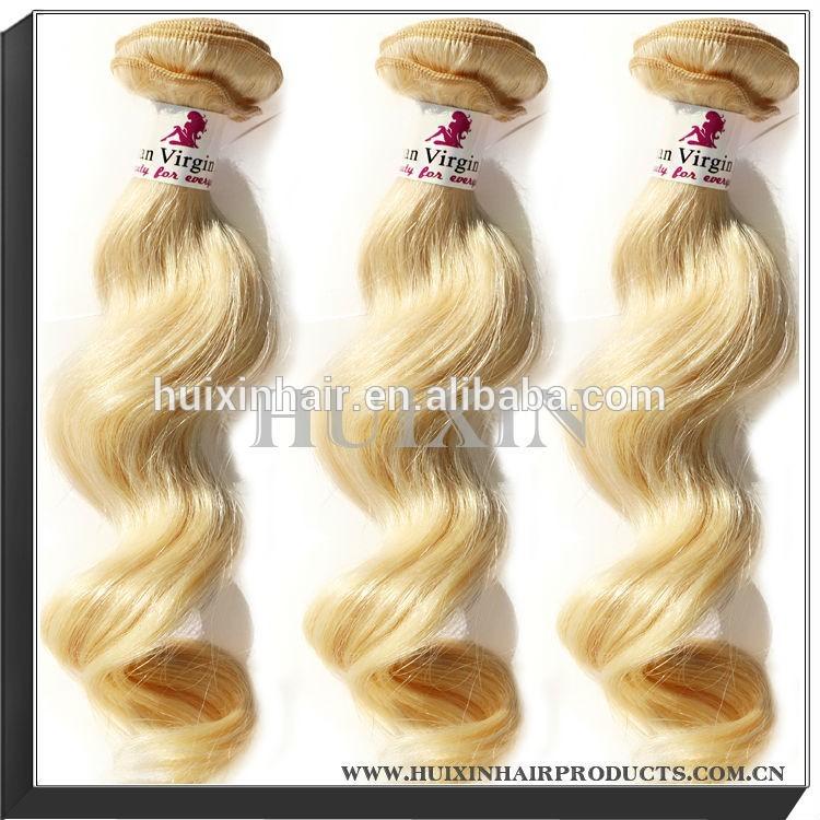biondo ragazze peruviano estensione dei capelli abito da sposa per estensione dei capelli magia capelli tessitura