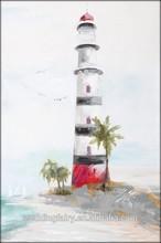 2015 Wholesale island tower paintings