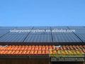 4kw telhado pv solar sozinha solar projeto de construção