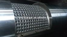 idraulico azionato continua a doppio pistone continua fusione filtro e dispositivo plc