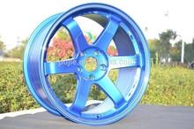 replica TE37 Car alloy wheel 4*100