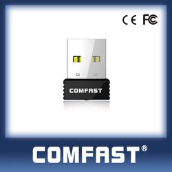 COMFAST ( CF-WU712P) RTL8188EUS 150mbps Indoor Wifi Direct Nano USB Adapter