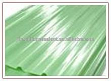 Toiture feuilles frp feuilles