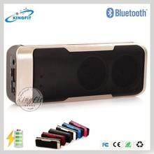 2015 New Power Bank Bluetooth Speaker with FM Radio/Handsfree/Line in/TF Card