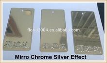 Silver Chrome Nano Spray Powder Coating Paints