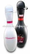 wholesale new design 500ml bowling shape sport water bottle for promotion