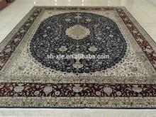 100% silk carpet/100% Hand Knotted/wall hanging silk carpet